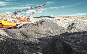 Picture work, machinery, industry, mining
