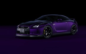 Picture Auto, Machine, Purple, Nissan GTR, Transport & Vehicles, Ryan Giffary, by Ryan Giffary, 2008 Nissan …