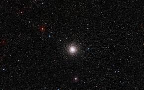 Picture Stars, Digitized Sky Survey 2, NGC 3201, Globular Cluster, Star Cluster, DSS2, Constellation of Vela