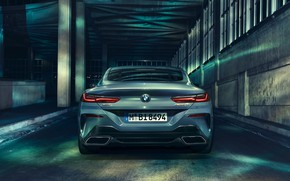 Picture BMW, rear view, Coupe, 2018, 8-Series, M850i, XDrive