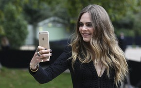 Picture pose, Apple, iPhone, model, actress, phone, photoshoot, model, hair, iPhone, pose, actress, selfie, Cara Delevingne, …