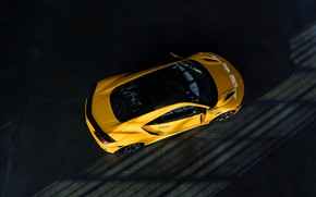 Picture roof, yellow, coupe, Honda, body, Acura, NSX, 2020