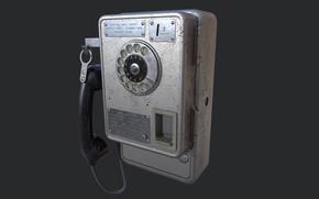 Picture USSR, АМТ-47, Таксофон