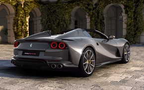 Picture machine, Ferrari, sports car, GTS, 812