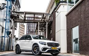 Picture Mercedes, AMG, White, GLC63