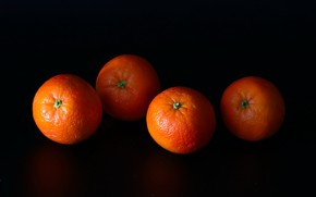 Picture background, fruit, tangerines