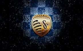 Picture wallpaper, sport, logo, football, glitter, checkered, MLS, Sporting Kansas City