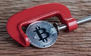 Picture silver, coin, bitcoin