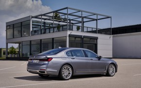 Picture house, BMW, sedan, four-door, G12, G11, 2020, 7, 7-series, 2019, full-size