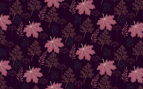 Picture leaves, background, pattern, texture, background