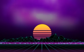 Picture Music, Background, 80s, Neon, 80's, Synth, Retrowave, Synthwave, New Retro Wave, Futuresynth, Sintav, Retrouve, Outrun, …