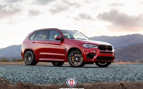 Picture BMW, Red, X5M, HRE, X5 M