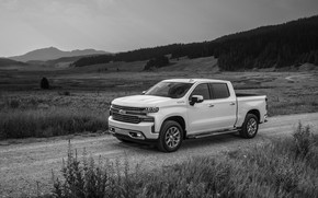 Picture Chevrolet, pickup, primer, Silverado, High Country, 2020, 2500 Heavy Duty