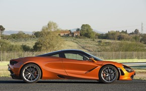 Picture McLaren, supercar, side view, Coupe, 2017, 720S