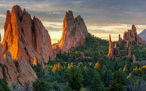 Picture rocks, Colorado, USA, Garden of the gods