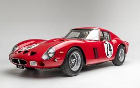 Picture retro, sport, Ferrari, Roadster, GTO, 1963, 250