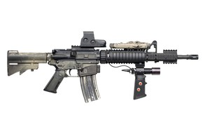 Picture weapons, Assault rifle, collimator