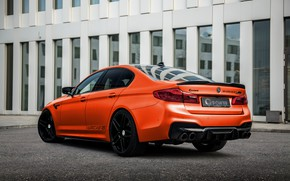Picture BMW, back, G-Power, BMW M5, 2020, M5, F90, G5M Hurricane RS