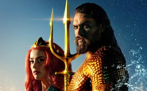 Picture Amber Heard, Amber Heard, Movie, Aquaman, Jason Momoa, Jason Momoa, Aquaman, Aquaman