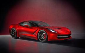 Picture Red, Corvette, Machine, Chevrolet Corvette, Supercar, Sports car, C7 Corvette, Transport & Vehicles, by Damian …