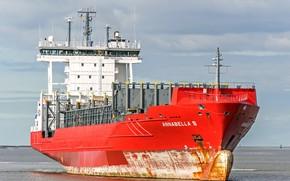 Picture ship, a container ship, Annabella S