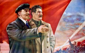 Picture red, holiday, victory, men, revolution, the Soviet Union, personality
