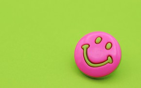 Picture smile, background, mood, pink, smiley