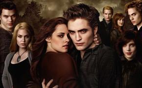 Picture family, vampires, Twilight, The Twilight