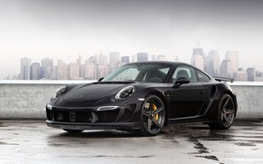 Picture 911, Porsche, Black, Carrera, Rain, VAG