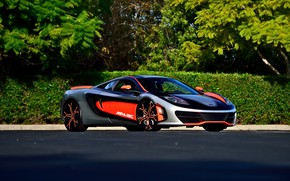 Picture McLaren, MP4-12C, Supercar