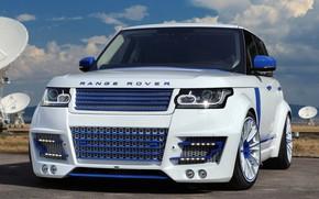 Picture Range Rover, Car, White, Tuning, Lumma, Lumma Design, L405, CLR R
