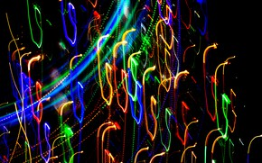 Picture bright colors, lights, lights, neon, neon, bright colors, glowing lines, glowing lines