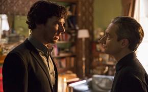 Picture Baker Street, background, Sherlock, Sherlock BBC, Martin Freeman, Benedict Cumberbatch, Sherlock Holmes, Benedict Cumberbatch, Sherlock …