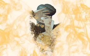 Picture smoke, guy, JoJo's Bizarre Adventure, The incredible adventures of Jojo