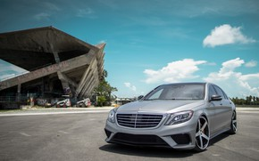 Picture Mercedes, AMG, Stuttgart, Silver, S65, W222, Sight, LED