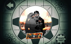 Picture The explosion, Background, Fallout, Wedding, Illustration, Wedding, Concept Art, Bomb, Fallout 4, by Maku Zoku, …