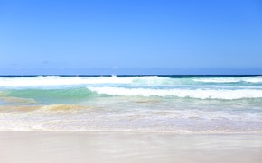 Picture sand, sea, wave, beach, summer, the sky, shore, summer, beach, sea, seascape, sand, wave