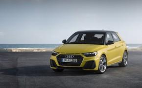 Picture 2018, Sportback, S-Line, Audi A1, 40 TFSI