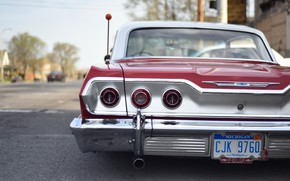 Picture Car, Ass, Chevy, Old, Vehicle