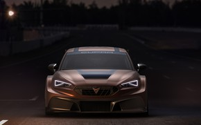 Picture front view, Leon, Competition, Seat, Cupra, 2020