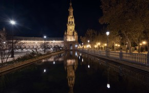 Picture Architecture, Andalucia, Privileges of Seville, Nightshot