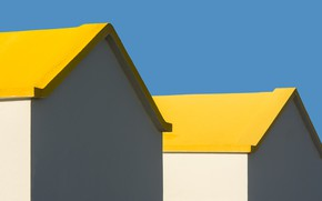 Picture roof, the sky, house