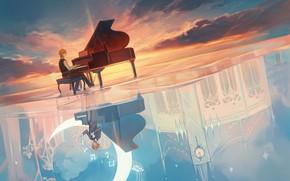 Picture Art, Anime, Music, Wallpaper