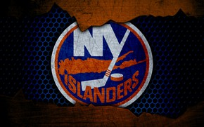 Picture wallpaper, sport, logo, NHL, hockey, New York Islanders
