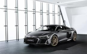 Picture machine, Audi, coupe, sports car, Audi R8, V10, A decade