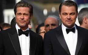 Picture actors, Brad Pitt, Leonardo DiCaprio