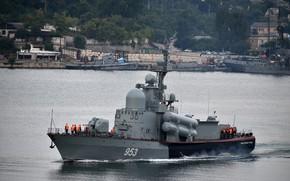 Picture boat, rocket, Naberezhnye Chelny, big