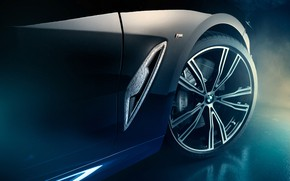 Picture wheel, BMW, Coupe, Night Sky, Individual, 8-Series, 2019, M850i, XDrive, Night Sky Edition