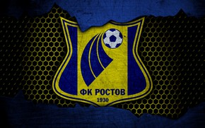 Picture wallpaper, sport, logo, football, Rostov