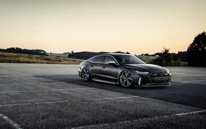 Picture Audi, black, vinyl, RS 7, 2020, V8 Biturbo, RS7 Sportback, 4.0 L., 962 л.с., HGP …